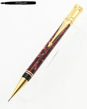 Parker Duofold Pencil in Rubin Red / Red Marble (0.9 mm)- International Size (3)