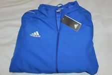 Adidas Men's Blue Full Size Track Soccer Jacket Size 2XL NWT