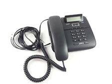 Gigaset DA610 Filaire Téléphone Téléphone Fixe Analogique Standardtelefon Noir
