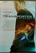 THE TRANSPORTER REFUELED Movie Poster 27x40 DS Authentic