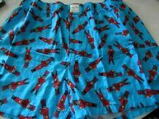 American Eagle Men'S Flannel Boxers Nutcracker X-Large Will Fit Waist Size 40-42