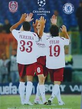 CFR Cluj v Chelsea 1st October 2008 Uefa Champions League. MINT CONDITION.