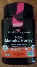 Wedderspoon 100% Raw Manuka Honey KFactor 16 500g 17.6 oz Lowest Price!