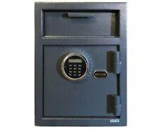 Hollon DP450LK Digital Keypad Heavy Duty Steel Drop Safe W/ Deposit Door