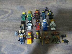 Lego Ninjago Minifigures Lot Lloyd, Nya, Cole, Zane, Kai, Jay, Master Wu, More