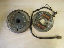 Yamaha XT500 1976-80 O.E  Generator Stator /Fly-Wheel Rotor Assembly