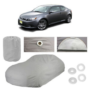 XtremeCoverPro 100/% Breathable Car Cover for Select Scion xD 2008 2009 2010 2011 2012 2013 2014 Space Gray