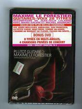 DVD (NEUF)MAXIME LE FORESTIER JEAN FELIX LALANNE  PLUTOT GUITARE LIVE