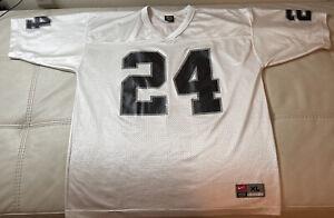 NWOT Nike On Field Vintage Charles Woodson Oakland Raiders Jersey Large