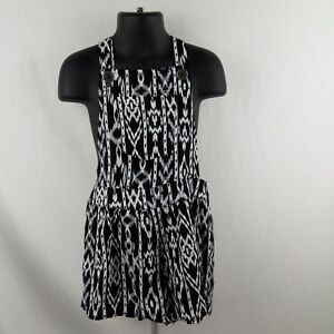 Xhilaration Romper Swimsuit Size 4-5 XS Black
