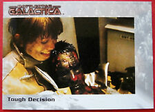 BATTLESTAR GALACTICA - Premiere Edition - Card #34 - Tough Decision