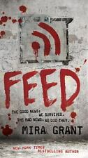 The Newsflesh Trilogy: Feed 1 by Mira Grant (2010, Paperback)