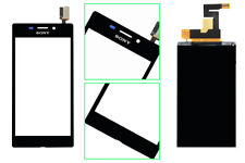 For Sony Touch Screen Digitizer+LCD+Tape Xperia M2 S50h D2302 D2303 D2305 D2306