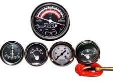David Brown Tractor Tachometer + Temperature + Oil Pressure+Ammeter + Fuel Gauge
