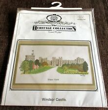 "Susan Ryder ""Windsor Castle'"" Counted Cross Stitch Kit Heritage Stitchcraft UK"