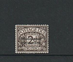Bechuanaland, postage Due 1926 2d MM SG D3