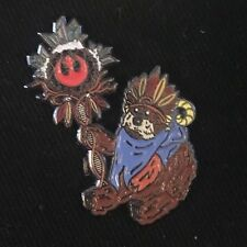 Ewok Holding a rebel sign pin Star Wars Limited Edition Sold Out