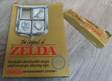 NES The Legend of Zelda 1987 1st Print No Rev A BOX ONLY
