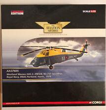 Corgi Westland Wessex HAS.3 XM328 Royal Navy Portland Hants Helicopter AA37605
