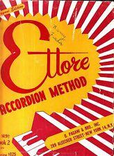 Ettore Accordion Method Book 2 Pagani Edition 1954