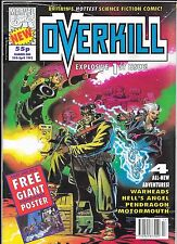 Marvel Comics UK - Overkill #1 24th April 1992