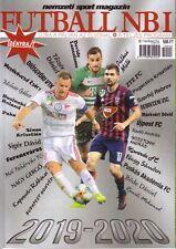 2019 2020 Hungarian Nemzeti Sport Futball NB1 - Football Season Preview Magazine