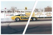 1960s Drag Racing-FRANTIC FORD-69 Mustang-Ron Rivero- AA/FC-Cecil CountyDragway