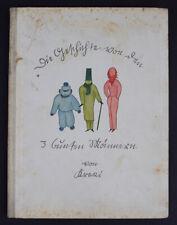 Bilderbuch > Die Geschichte von den 3 bunten Männern < 1940 (Bauhaus)