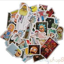 49Pcs Rick And Morty Stickers Stickerbomb Cartoon Decal Skateboard Auto Sticker