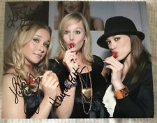 Kristen Bell, Hayden Panetierre & Hillary Duff Autograph 8x10 w/ COA Frozen