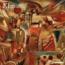 CALENDRIER 2018 - KLEE - 30 x 30 cm