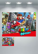 Super Mario Odyssey Gaming Large Poster Art Print