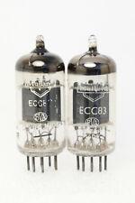 Pair Mullard ECC83 I61 B9I B9J Valve Tube 12AX7 B339 CV492 CV4004 for EL34 KT88
