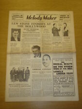 MELODY MAKER 1935 MAY 25 LEW STONE BENNY CARTER BRIAN LAWRENCE BIG BAND SWING