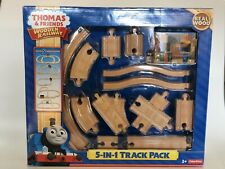 Thomas and Friends Wooden Railway 5-in-1 Track Pack train wood  new in box!!