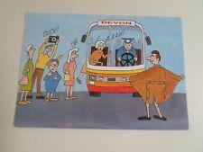 Vintage Postcard FLASHING AROUND DEVON HUMOUR  2DC 1571   §A63