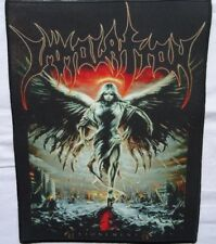 IMMOLATION - ,,Atonement,,Backpatch Giant Back Patch Rückenaufnäher Aufnäher Ltd