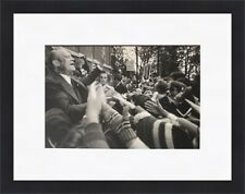 Gilles Peress - Gerald Ford Photograph Circa 1976 Custom Gallery Framed