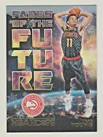 2018-19 Panini Hoops FACES OF THE FUTURE HOLIDAY EDITION #5 TRAE YOUNG RC Rookie