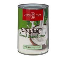 Canned Coconut Cream Kosher Product Cooking  By Mizrah Ve Maarav 400ml