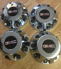 2011-2019 GMC Sierra 3500 DUALLY Center Cap SET of 4  CHROME