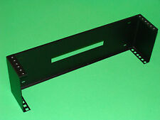 """19"""" Vertical Wall Mount Rack 2U Square Holes and Tapped Holes"""