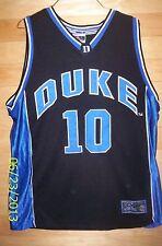 Duke University Blue Devils #10 Colosseum Basketball Jersey Mens Large SEWN