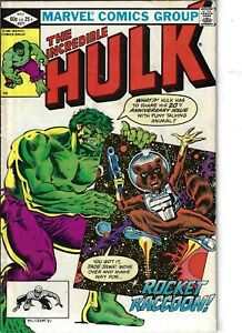 Incredible Hulk 271 Rocket Raccoon VG+ 1982 Glossy