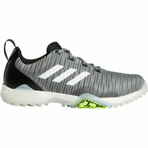 NEW Adidas Mens 2020 CODECHAOS Golf Shoes EE9103 Grey/White/black  size 10 M