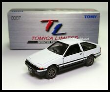 TOMICA LIMITED TL 0007 TOYOTA SPRINTER TRUENO LEVIN AE86 1/61 NEW WHITE (OPENED)