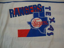 MLB Texas Rangers Baseball Sportswear Fan Apparel Striped T Shirt Size L/XL