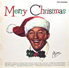 MERRY CHRISTMAS: BING CROSBY with THE ANDREWS SISTERS+OTHERS MCA RECORDS 33 LP