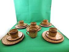 Juego de té de cerámica de estudio Estampado Nr 1