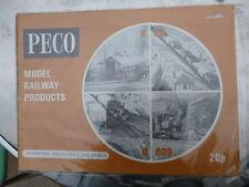 Peco  Model Railways catalogue and price list